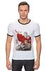 """Футболка Рингер """"военно-патриотическая"""" - война, ретро, war, 9 мая, wwii, 1945, великая отечественная"""