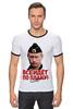 "Футболка ""Рингер"" (Мужская) ""Путин. Все идет по плану!"" - путин, президент, putin, патриотические футболки"