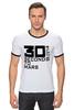 """Футболка Рингер """"30 Seconds To Mars"""" - 30 seconds to mars, 30 stm"""