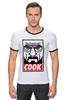 """Футболка Рингер """"Повар"""" - obey, во все тяжкие, breaking bad, heisenberg, cook"""