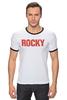 "Футболка Рингер ""Rocky Balboa"" - rocky, сильвестр сталлоне, rambo, sylvester stallone, рокки бальбоа"