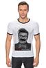 "Футболка Рингер ""#LOOCАШЕНКО"" - юмор, приколы, хипстер, президент, усы, лукашенко, president, белорусь, lukashenko"