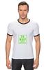 """Футболка Рингер """"За мир без домогательств"""" - мем, мир, дружба, текст, тэг, жвачка, лозунг, сообщение"""