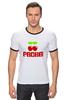 """Футболка Рингер """"PACHA"""" - арт, cherry, nightclub, pacha"""