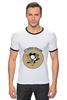 """Футболка Рингер """"Питтсбург Пингвинз """" - хоккей, nhl, нхл, питтсбург пингвинз, pittsburgh penguins"""