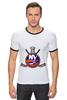 "Футболка ""Рингер"" (Мужская) ""Нью-Йорк Айлендерс "" - хоккей, nhl, нхл, нью-йорк айлендерс, new york islanders"