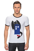 "Футболка ""Рингер"" (Мужская) ""Как приручить Тардис"" - doctor who, доктор кто"