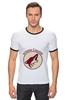 """Футболка Рингер """"Arizona Coyotes"""" - спорт, хоккей, nhl, нхл, аризона койотс"""