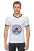 """Футболка Рингер """"Колорадо Эвеланш """" - хоккей, nhl, нхл, колорадо эвеланш, colorado avalanche"""