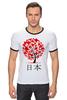 "Футболка Рингер ""Nihon "" - аниме, япония, japan, nihon"