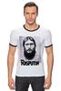 "Футболка ""Рингер"" (Мужская) ""Rasputin"" - россия, russia, imperia, распутин, rasputin"