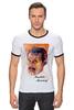 "Футболка Рингер ""Freddie Mercury - Queen"" - queen, фредди меркьюри, freddie mercury, куин, rock music"