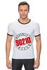 "Футболка Рингер ""90210"" - 90210, беверли-хиллз 90210, beverly hills"