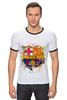 "Футболка Рингер ""барселона"" - футбол, эмблема, barcelona, барселона"