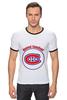 "Футболка ""Рингер"" (Мужская) ""Montreal Canadiens"" - хоккей, nhl, нхл, montreal canadiens, монреаль канадиенс"