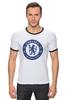 """Футболка Рингер """"Chelsea FC"""" - футбол, челси, chelsea"""