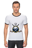 "Футболка Рингер ""Buffalo Sabres"" - спорт, хоккей, nhl, нхл, баффало сейбрз"