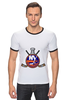 "Футболка Рингер ""Нью-Йорк Айлендерс"" - хоккей, nhl, нхл, нью-йорк айлендерс, new york islanders"