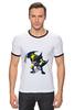 """Футболка Рингер """"люди-x"""" - комиксы, росомаха, marvel, эксклюзив, для фанатов, x-men, wolverine"""