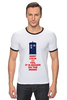 "Футболка Рингер ""KEEP CALM"" - doctor who, tardis, доктор кто, cult of skaro"