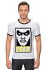 "Футболка ""Рингер"" (Мужская) ""Таал Синестро (Thaal Sinestro)"" - fear, obey, dc, синестро, sinestro"