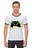 "Футболка ""Рингер"" (Мужская) ""Игрок (Геймер)"" - gamer, геймер, xbox, джойстик, геймпад"