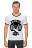 "Футболка Рингер ""Proud to vape"" - пар, vape, vaping, электронные сигареты"