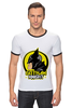"Футболка Рингер ""Gotham Knight"" - комиксы, batman, кино, бэтмен, готэм"