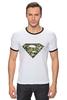 """Футболка Рингер """"Superman - камуфляж"""" - superman, россия, камуфляж, camo"""
