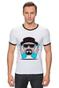 "Футболка Рингер ""Heisenberg (Breaking Bad)"" - во все тяжкие, breaking bad, heisenberg"