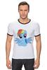 """Футболка Рингер """"RainbowDash T-Shirt"""" - круто, rainbow dash, my little pony, пони, rainbow, стильно, рейнбоу дэш, молодёжно"""