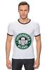 "Футболка Рингер ""Heisenberg Blend"" - сериал, кофе, во все тяжкие, breaking bad, starbucks"