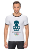 "Футболка ""Рингер"" (Мужская) ""Сочи 2014"" - олимпиада, сочи, sochi, olympics"