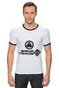 """Футболка Рингер """"Время Танков """" - games, игры, игра, game, стиль, логотип, авторская работа, world of tanks, танки, wot"""