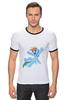 """Футболка Рингер """"My little pony- Rainbow Dash"""" - pony, rainbow dash, mlp, пони, радуга дэш"""