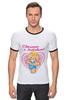 """Футболка Рингер """"Сделано с любовью!"""" - baby, беременность, футболки для беременных, футболки для беременных купить, принты для беременных, pregnant, made with love"""