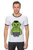 """Футболка """"Рингер"""" (Мужская) """"Невероятный Халк (Мстители)"""" - hulk, мстители, avengers, халк"""
