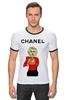 "Футболка Рингер ""Chanel"" - прикол, юмор, духи, fashion, perfume"