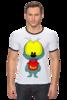 "Футболка Рингер ""Вжик ""Bzzzzz"""" - вжик, bzzzzz, футболка, мультгерои"
