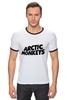 """Футболка """"Рингер"""" (Мужская) """"Arctic Monkeys"""" - uk, arctic monkeys, indie rock, инди-рок, арктические мартышки"""