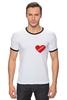 "Футболка Рингер ""heart"" - heart"