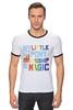 "Футболка Рингер ""My Little Pony Colored"" - rainbow dash, my little pony, friendship is magic"