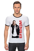 "Футболка Рингер ""Eminem"" - rap, eminem, эминем, shady"