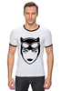 "Футболка Рингер ""Женщина-кошка (Catwoman)"" - batman, бэтмен, женщина-кошка, catwoman"