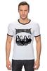 "Футболка Рингер ""Metallica"" - heavy metal, metallica, трэш, металлика, хэви метал"