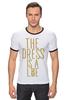 """Футболка """"Рингер"""" (Мужская) """"Какого цвета Платье?"""" - платье, dress, какого цвета, the dress is a lie"""