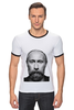 """Футболка Рингер """"Путин с бородой"""" - путин, борода, putin"""