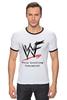 "Футболка Рингер ""WrestleMania"" - wwe, wrestling, wwf, рестлинг, wrestlemania"