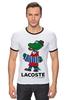 """Футболка """"Рингер"""" (Мужская) """"гена лакост"""" - lacoste, крокодил гена, лакост"""