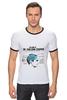 "Футболка Рингер ""мозг Шелдона Купера"" - арт, the big bang theory, теория большого взрыва, sheldon cooper, comedy"
